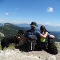 Kutyával a Júliai Alpokban 2. nap: Visevnik (2050m)