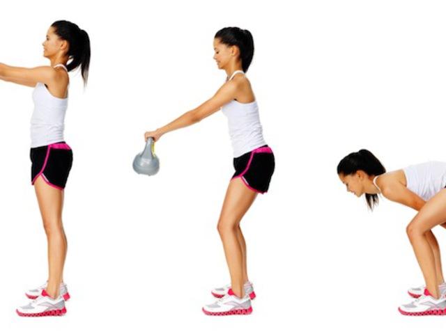 Kettlebell súlyedzés = zsírégetés + izomnövelés