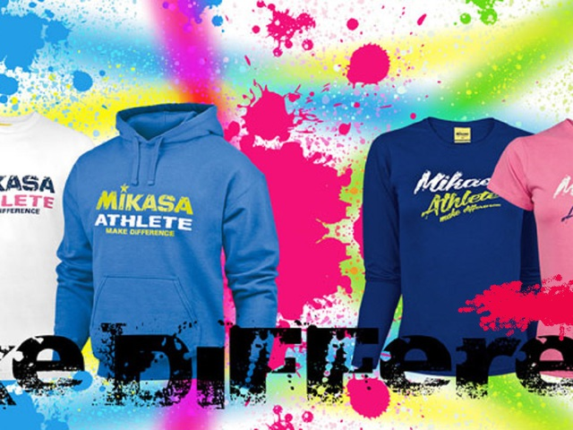 Asics & Mikasa sportruházat