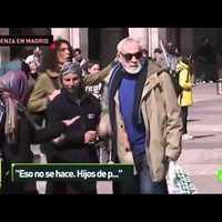 Elképesztő megaláztatás Madrid főterén