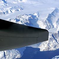 Grönland 11.000 méterről