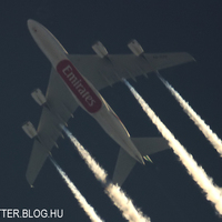 Névnapi ajándékba kapott Emirates A380