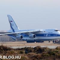 Megújulnak a magyar Mi-24-esek - An-124 Ruslan érkezett értük Kecskemétre