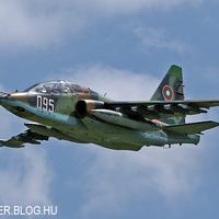 Békaláb délidőben - a Bolgár Légierő Szu-25 Frogfoot csatarepülőgépe Kecskeméten