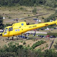 Mentőhelikopter akcióban