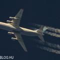 Contrail spotting - An-124 Ruslan