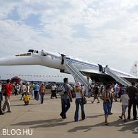 Tu-144-esek a Zsukovszkij légibázison