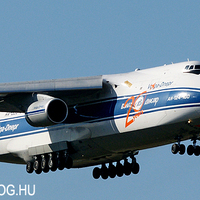 Volga-Dnepr Airlines An-124 Ruslan Ferihegyen