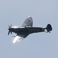 Spitfire Kent felett – fotózás a parkolóból