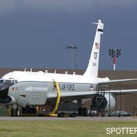 Felderítő a bázison – RC-135U Combat Sent Mildenhall-ban