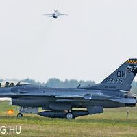F-16-os mustra Kecskeméten - Load Diffuser 2010