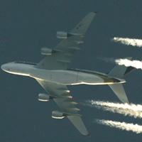 Áthaladó A380 - Na végre!!!