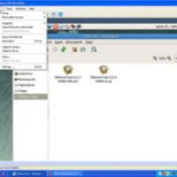 Virtuális gép és a VMware Workstation beállításai