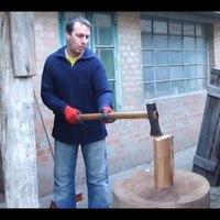 A spúrság magasiskolája: így vágj fel 1 mázsa fát 7 perc alatt