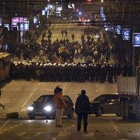 Zavargások Belgrádban - Megint a focihuligánok