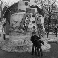 Ledózeroltak egy hóembert, mert nem volt rá építési engedély