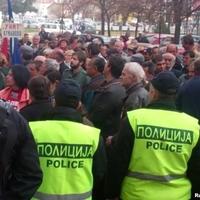 Tüntetések kezdődtek Macedóniában is