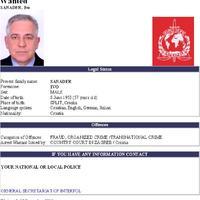 A horvát ex-miniszterelnök interpolos elfogatóparancsa