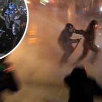 Breaking: Utcai zavargások Ljubljanában! 6 súlyos sérült idáig