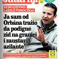 Toroczkai adta a kerítés ötletét Orbánnak?