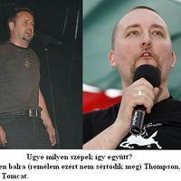 Thompson a horvát Tomcat