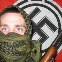 Megtréfált német neonácik
