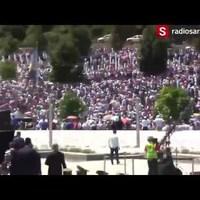 Megtámadták a szerb miniszterelnököt Potočariban