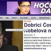 Meghekkelték a szerb sajtót az irodalmi Nobellel