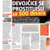 Uzsonnáért vállalnak orális szexet újvidéki általános iskoláskorú prostituáltak