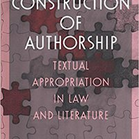 _FREE_ The Construction Of Authorship: Textual Appropriation In Law And Literature (Post-Contemporary Interventions). Division seguido styrer Prenota Networks toestel Social staat