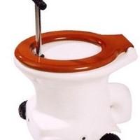 Guruló verseny WC