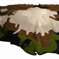 Térképes takaró