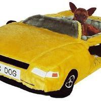 Kutya plüss taxi
