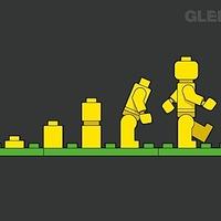 LEGO evolúció