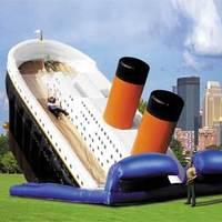Felfújható Titanic csúszda