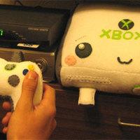 Plüssborítás Xbox 360-hoz