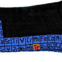 Periodikus tábla zokni