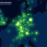 Merre utaznak az iPhone felhasználók Európában?