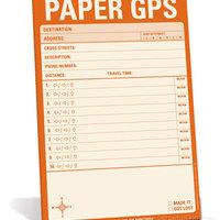 Papír alapú GPS