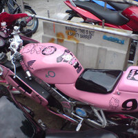 Hello Kitty versenymotor
