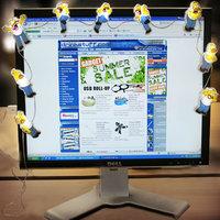 Homer a monitorlámpa