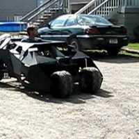 Batman mini mobil