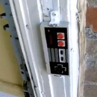 NES kontroller csengő