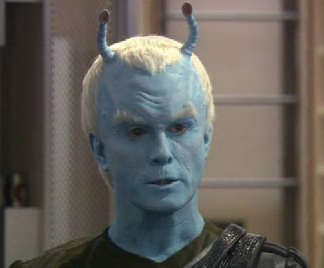 Shran, az andóriai a Star Trek Enterprise egyik epizódjában