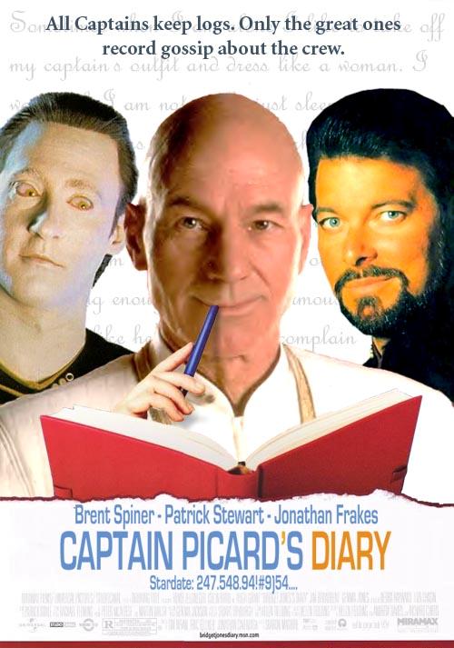 Picard kapitány naplója<br />'Minden kapitány vezet naplót. De csak az igazán nagyok jegyzik fel a legénységi pletykákat is.'
