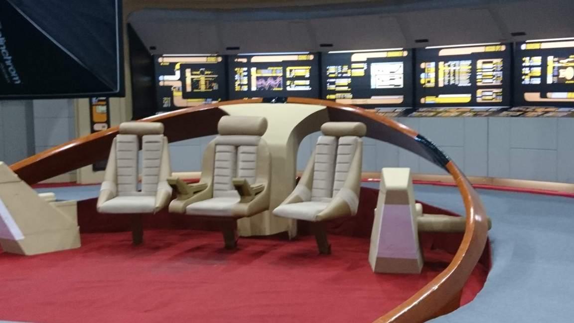 Az Enterprise-D hídja