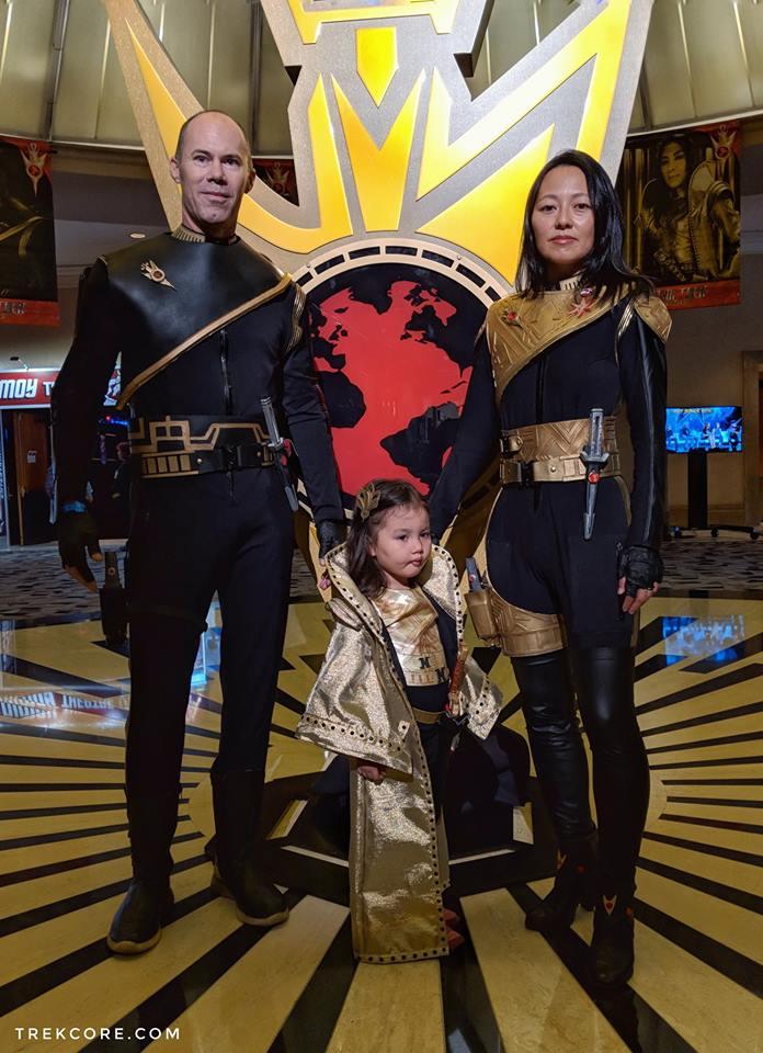 A császárné és alattvalói<br />(Kisgyerekes szülők bizonyára átérzik néha...)