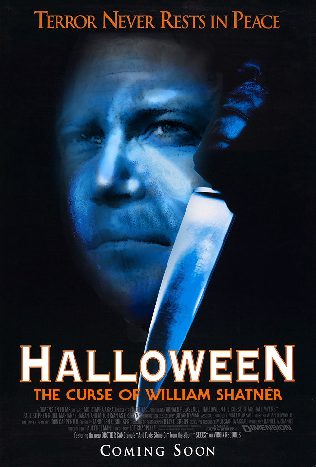 Halloween<br />'William Shatner átka'