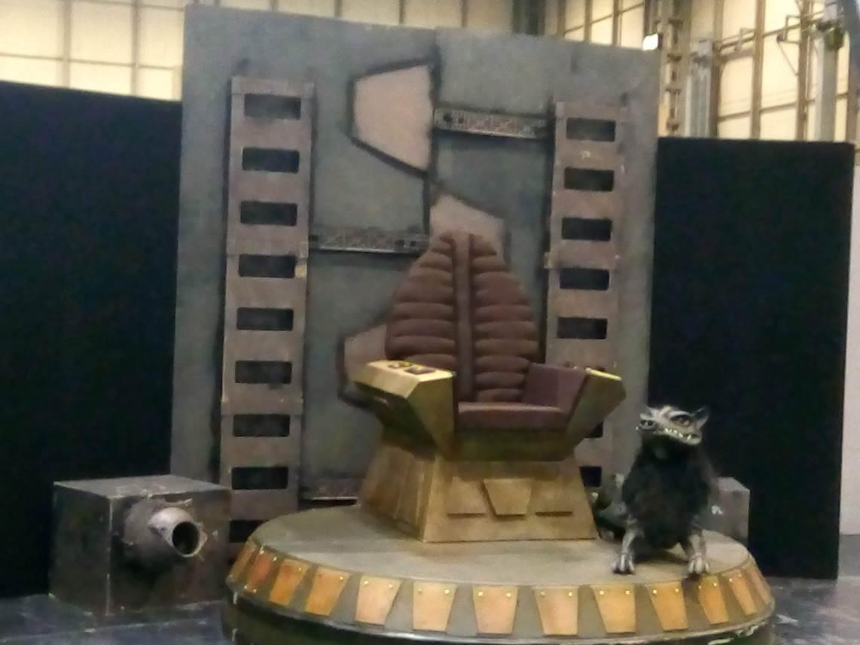 Klingon hajóhíd a Star Trek III-ból, a 'cuki' 'kutyával' együtt