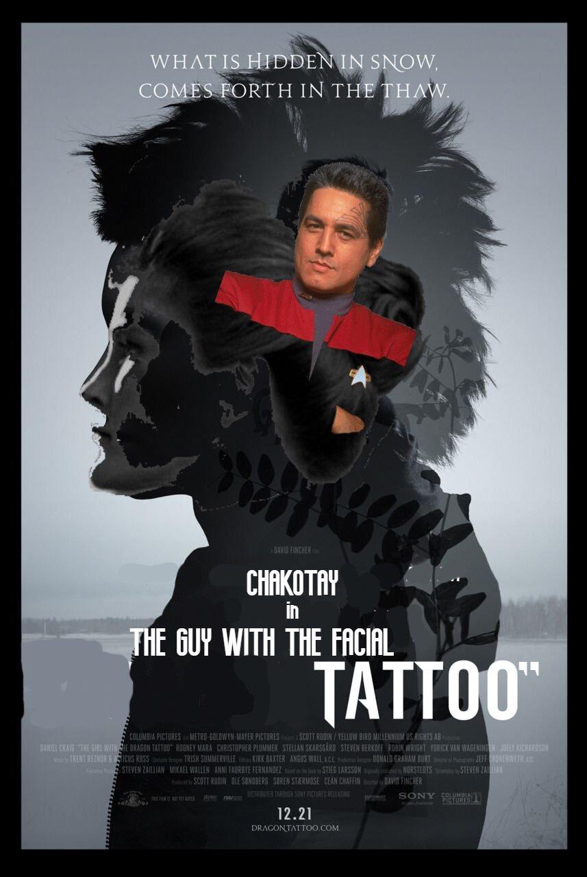 Az arcon tetovált srác